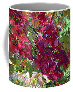 Autumn Leaves Reflections Coffee Mug