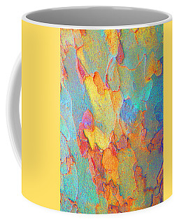 Autumn London Plane Tree Abstract 2 Coffee Mug