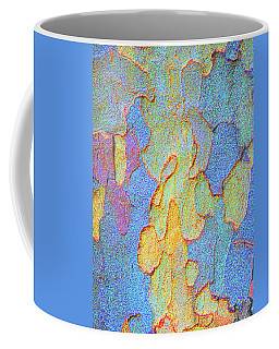 Autumn London Plane Tree Abstract 4 Coffee Mug