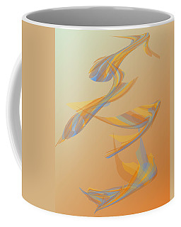 Coffee Mug featuring the digital art Autumn Migration by Stephanie Grant