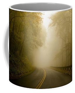 Autumn Mist Blue Ridge Parkway Coffee Mug