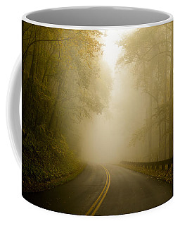 Autumn Mist Blue Ridge Parkway Coffee Mug