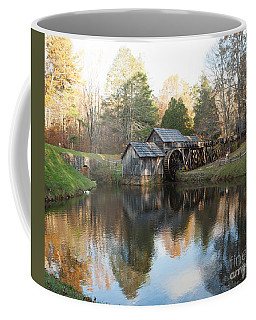 Autumn Morning At Mabry Mill Coffee Mug