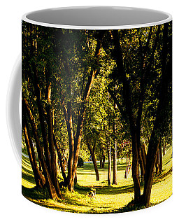 Autumn Morning Stroll Coffee Mug