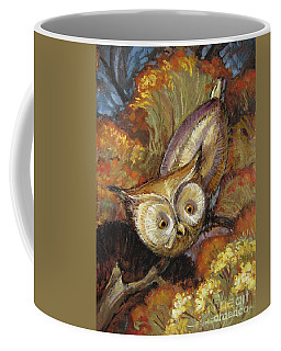 Autumn Owl Coffee Mug