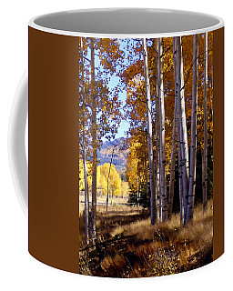 Autumn Paint Chama New Mexico Coffee Mug by Kurt Van Wagner