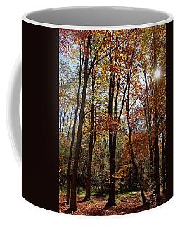 Autumn Picnic Coffee Mug by Debbie Oppermann