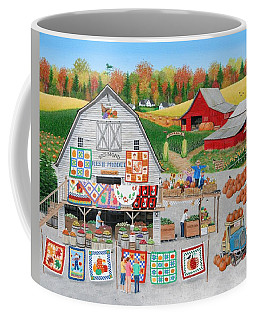 Autumn Quilts Coffee Mug