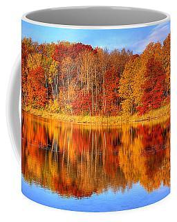 Autumn Reflections Minnesota Autumn Coffee Mug