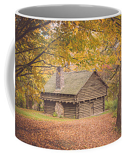 Autumn Retreat Coffee Mug by Sara Frank