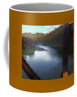 Autumn River Valley  Coffee Mug