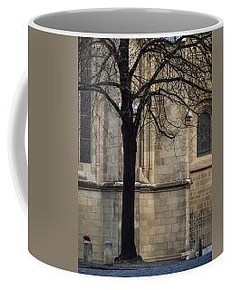 Coffee Mug featuring the photograph Autumn Silhouette by Muhie Kanawati