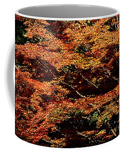 Coffee Mug featuring the digital art Autumn Solarisation 1 by Rudi Prott