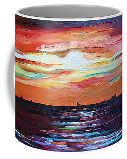 Autumn Sunset On The Baltic Sea Coffee Mug