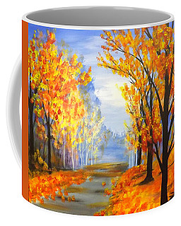 Autumn Trail Coffee Mug