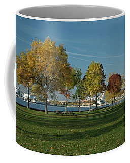 Autumn Trees Coffee Mug by Jonah  Anderson