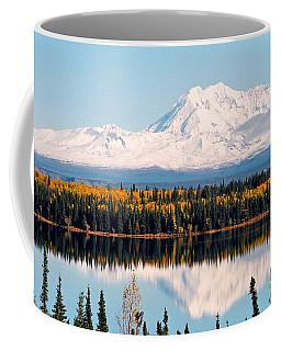 Autumn View Of Mt. Drum - Alaska Coffee Mug by Juergen Weiss