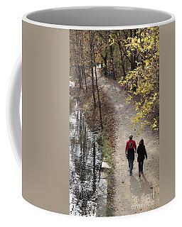 Autumn Walk On The C And O Canal Towpath Coffee Mug