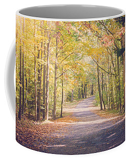 Autumn Walk Coffee Mug by Sara Frank