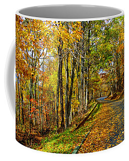 Autumn Winding Road Coffee Mug