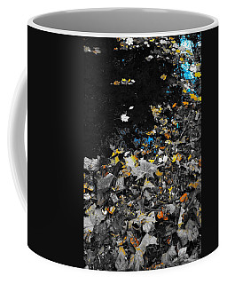 Coffee Mug featuring the photograph Autumn's Last Color by Photographic Arts And Design Studio