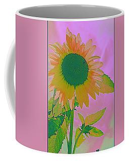 Autumn's Sunflower Pop Art Coffee Mug