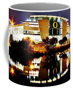 Autzen At Night Coffee Mug