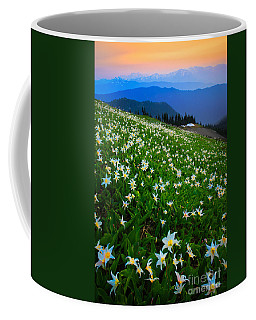 Avalanche Lily Field Coffee Mug