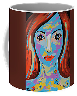 Avani - Contemporary Woman Art Coffee Mug