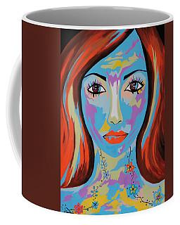 Coffee Mug featuring the painting Avani by Kathleen Sartoris