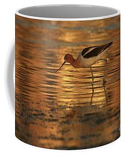 Avocet Gold Coffee Mug