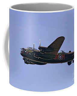 Avro 638 Lancaster At The Royal International Air Tattoo Coffee Mug by Paul Fearn
