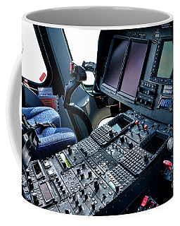 Aw139 Cockpit Coffee Mug