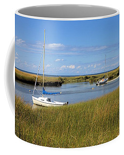 Coffee Mug featuring the photograph Awaiting Adventure by Gordon Elwell