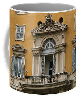 Awaiting The Pope Coffee Mug by Robin Maria Pedrero