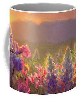 Awakening - Mt Susitna Spring - Sleeping Lady Coffee Mug by Karen Whitworth