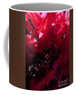 Coffee Mug featuring the photograph Azalea Abstract by Robyn King