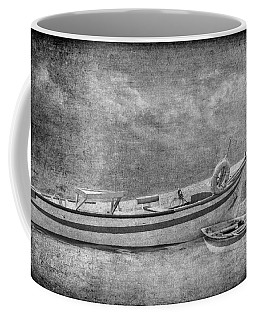 Azorean Fishing Boats B/w Coffee Mug