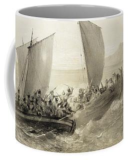 Azov Cossacks Boarding A Turkish Corsair Coffee Mug