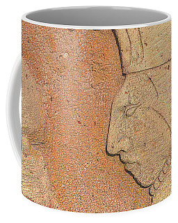 Coffee Mug featuring the photograph Aztec Warrior by Nadalyn Larsen