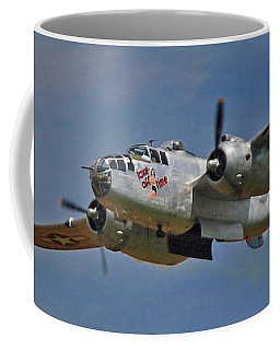 B-25 Take-off Time 3748 Coffee Mug
