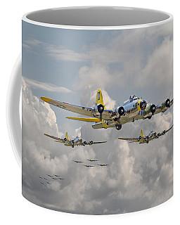 B17 486th Bomb Group Coffee Mug by Pat Speirs