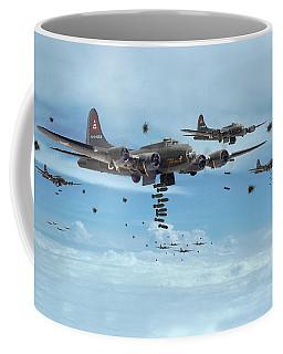 B17 - Mighty 8th Arrives Coffee Mug by Pat Speirs