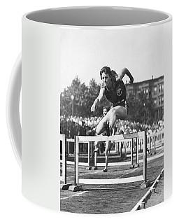 Babe Didrikson High Hurdles Coffee Mug