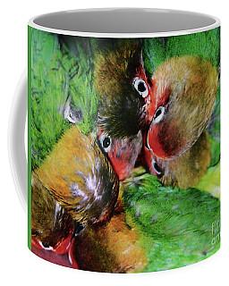Baby Bird Nest In Hong Kong Bird Market Coffee Mug