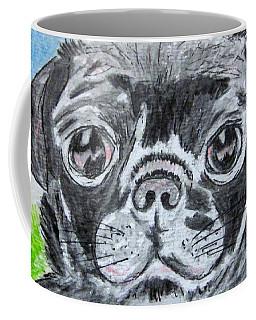Baby Black Pug Coffee Mug