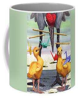 Baby Cranes Coffee Mug