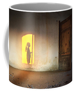 Baby Do Not Open That Door Coffee Mug