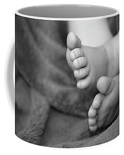 Coffee Mug featuring the photograph Baby Feet by Carolyn Marshall