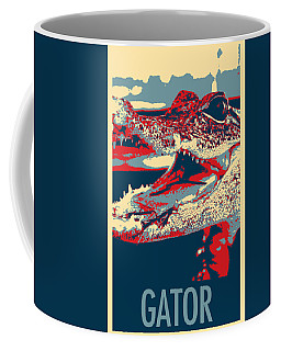 Baby Gator In Hope Coffee Mug